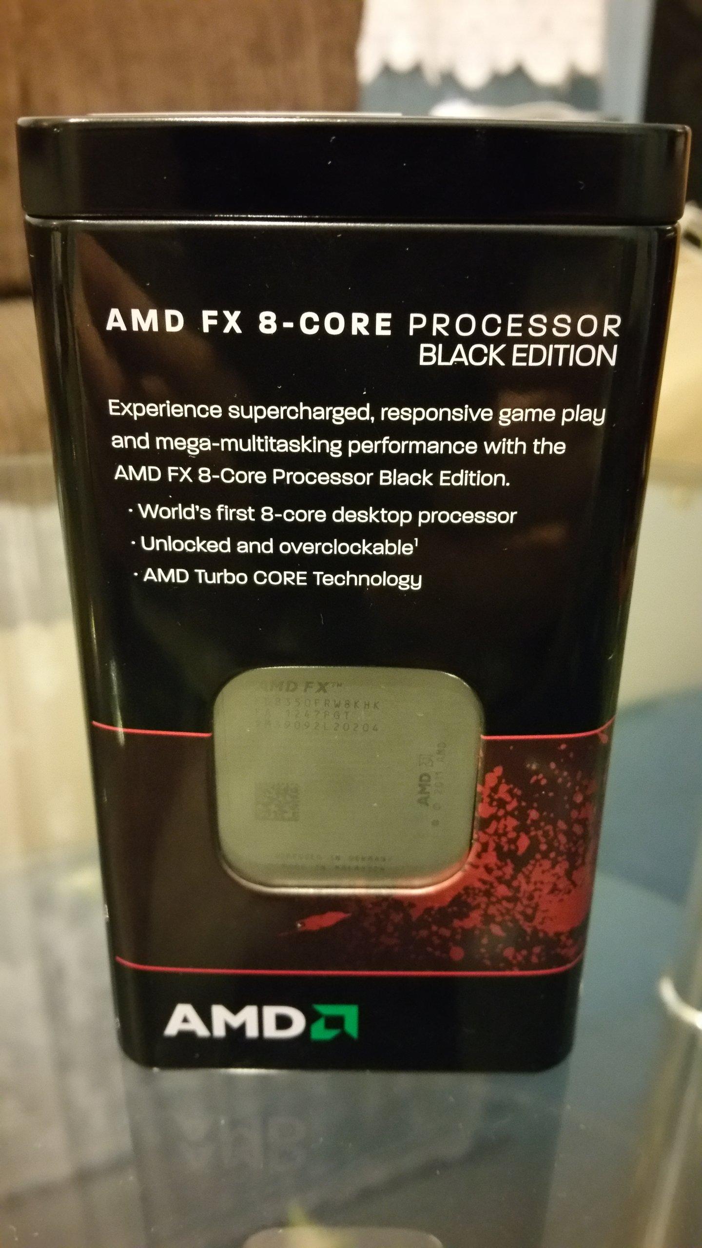 AMD FX 8350 Komplet wersja BOX_BE z Wentylatorem