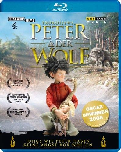 BLU-RAY Animation - Peter & Der Wolf.. Philha