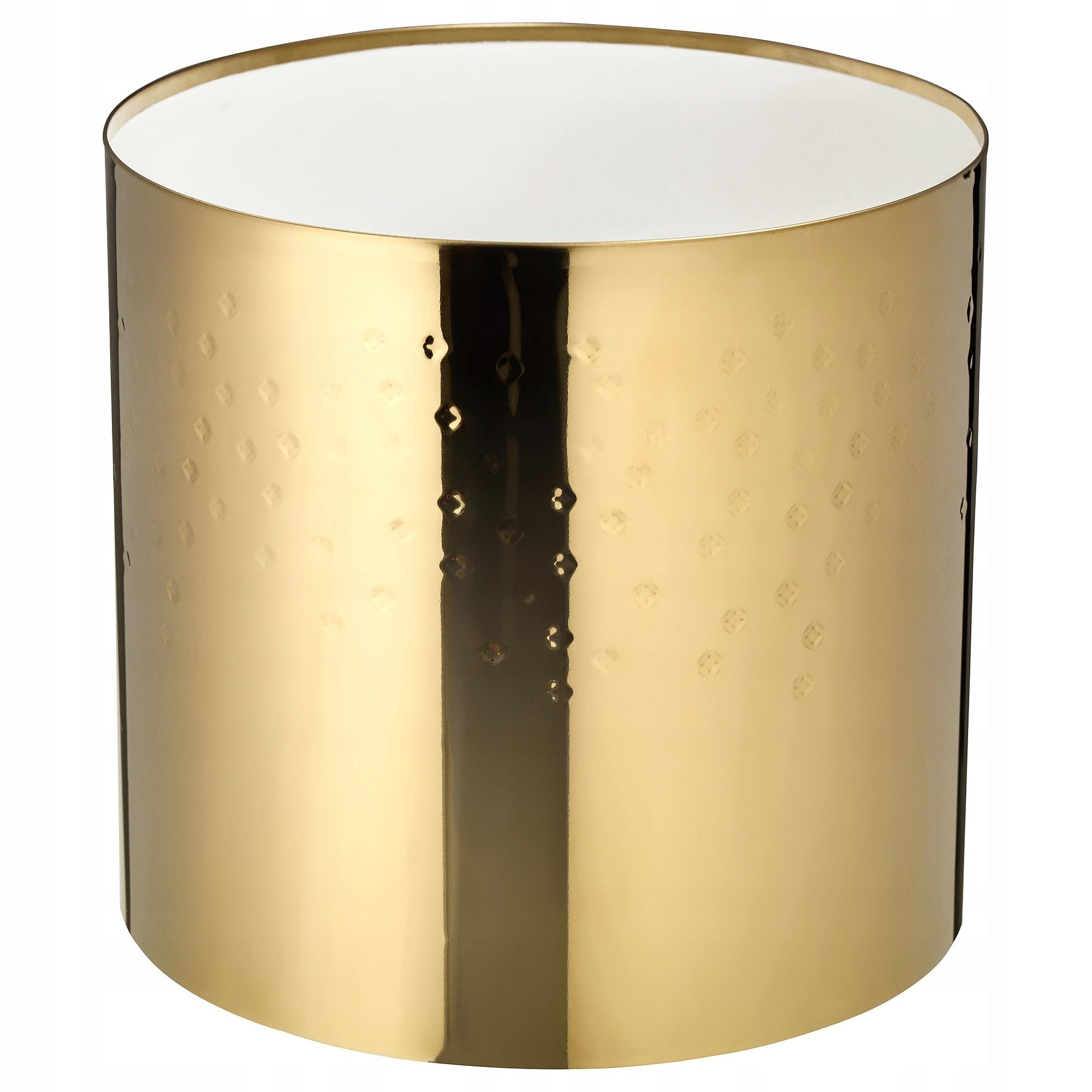 Ikea Vinter 2018 Osłonka Doniczki Złoty Kolor 12cm