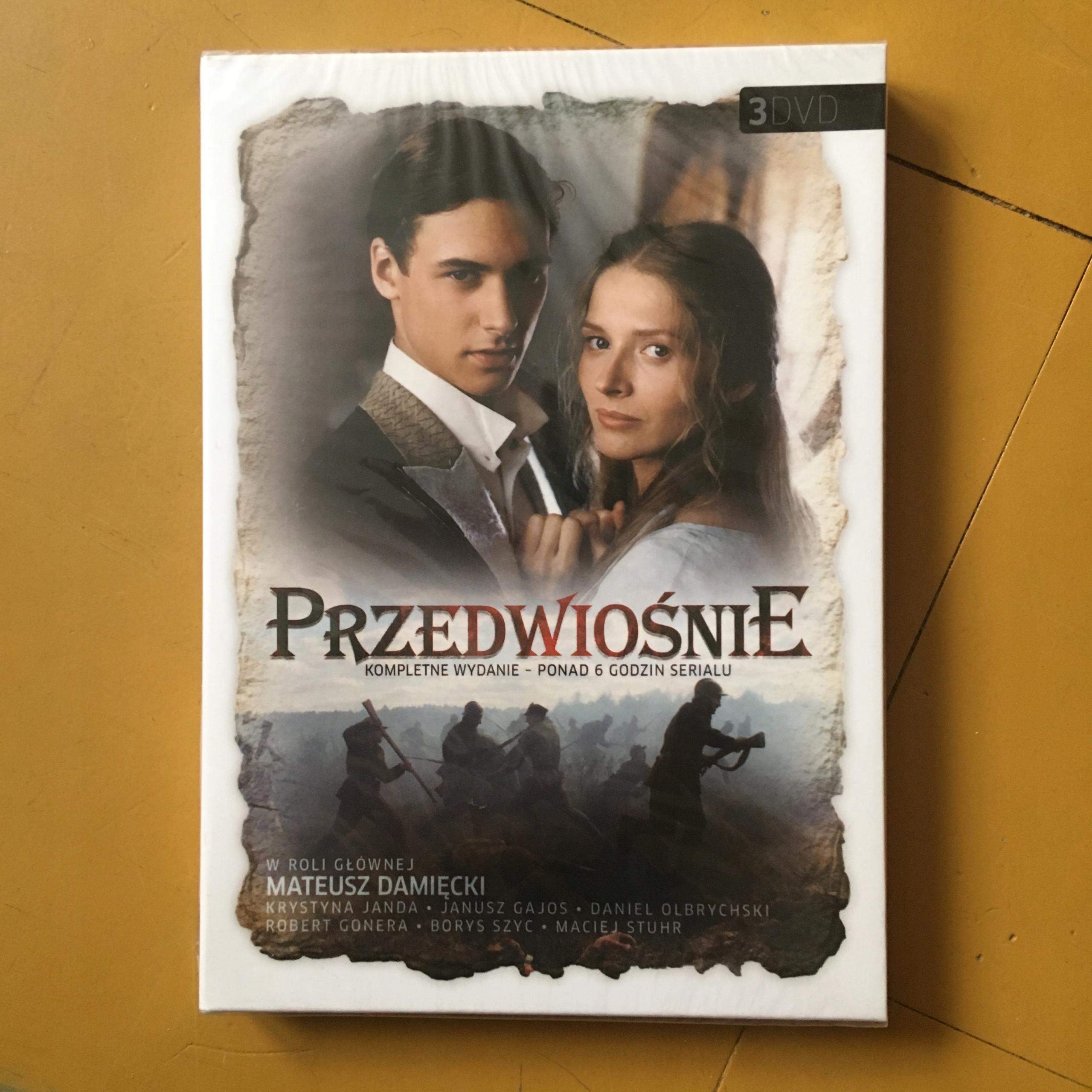 DVD - PRZEDWIOŚNIE - BCM $$$