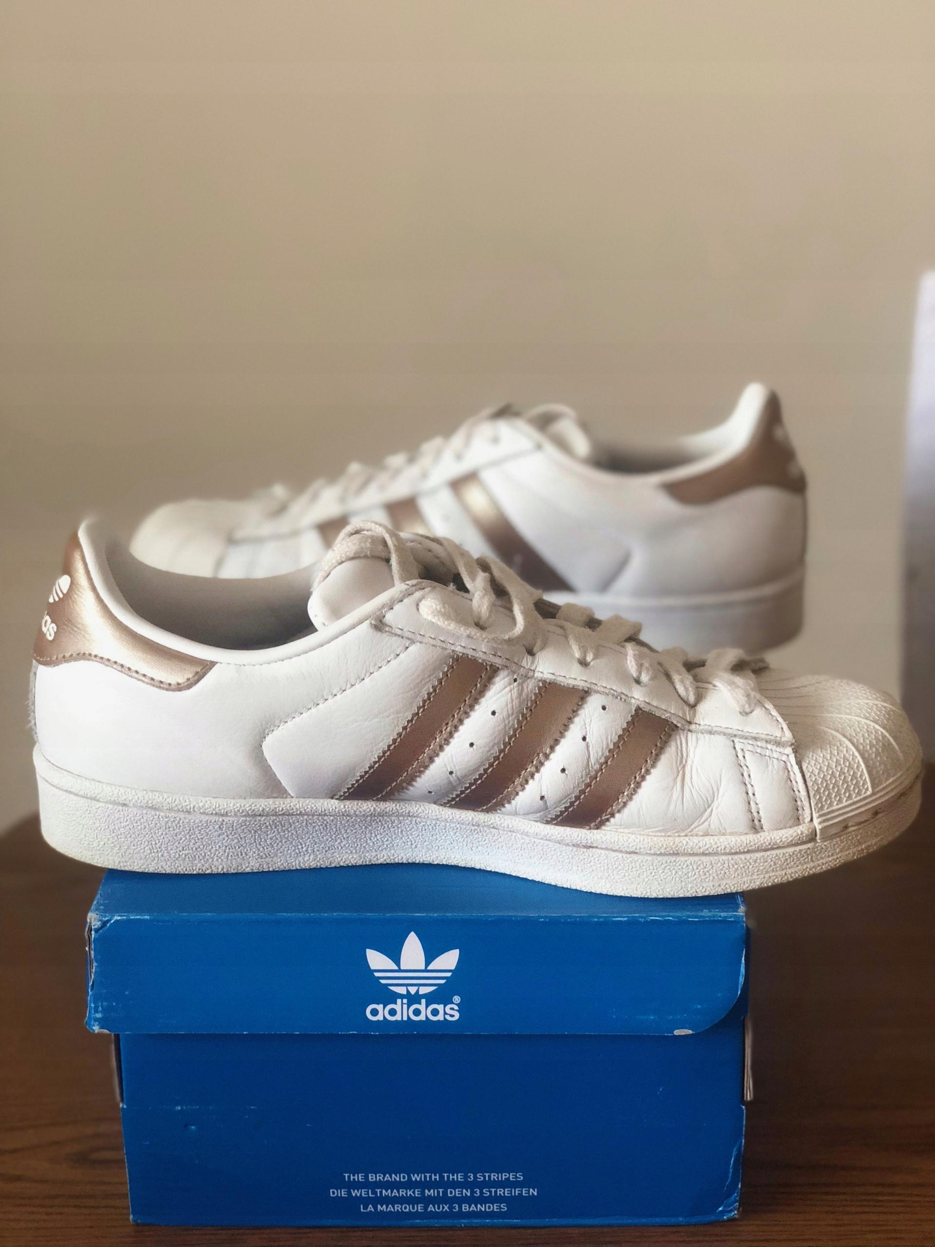 Buty adidas Superstar W r. 41 13 UŻYWANE