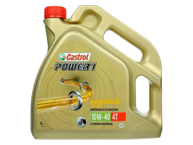 CASTROL POWER 1 4T 10W40 4L PIEKARY