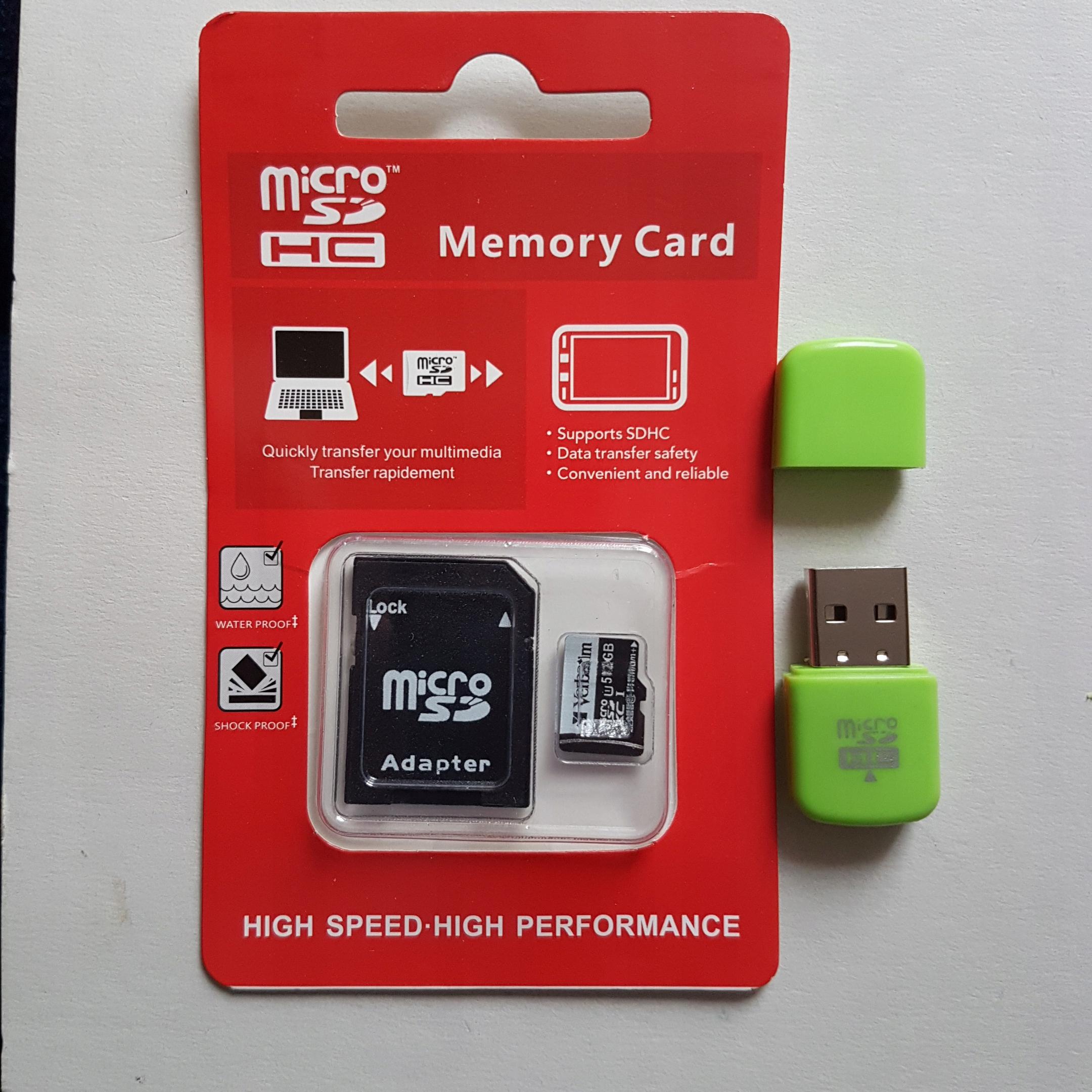 Karta pamięci Verbatim 512GB micro SD XC U1 nowa