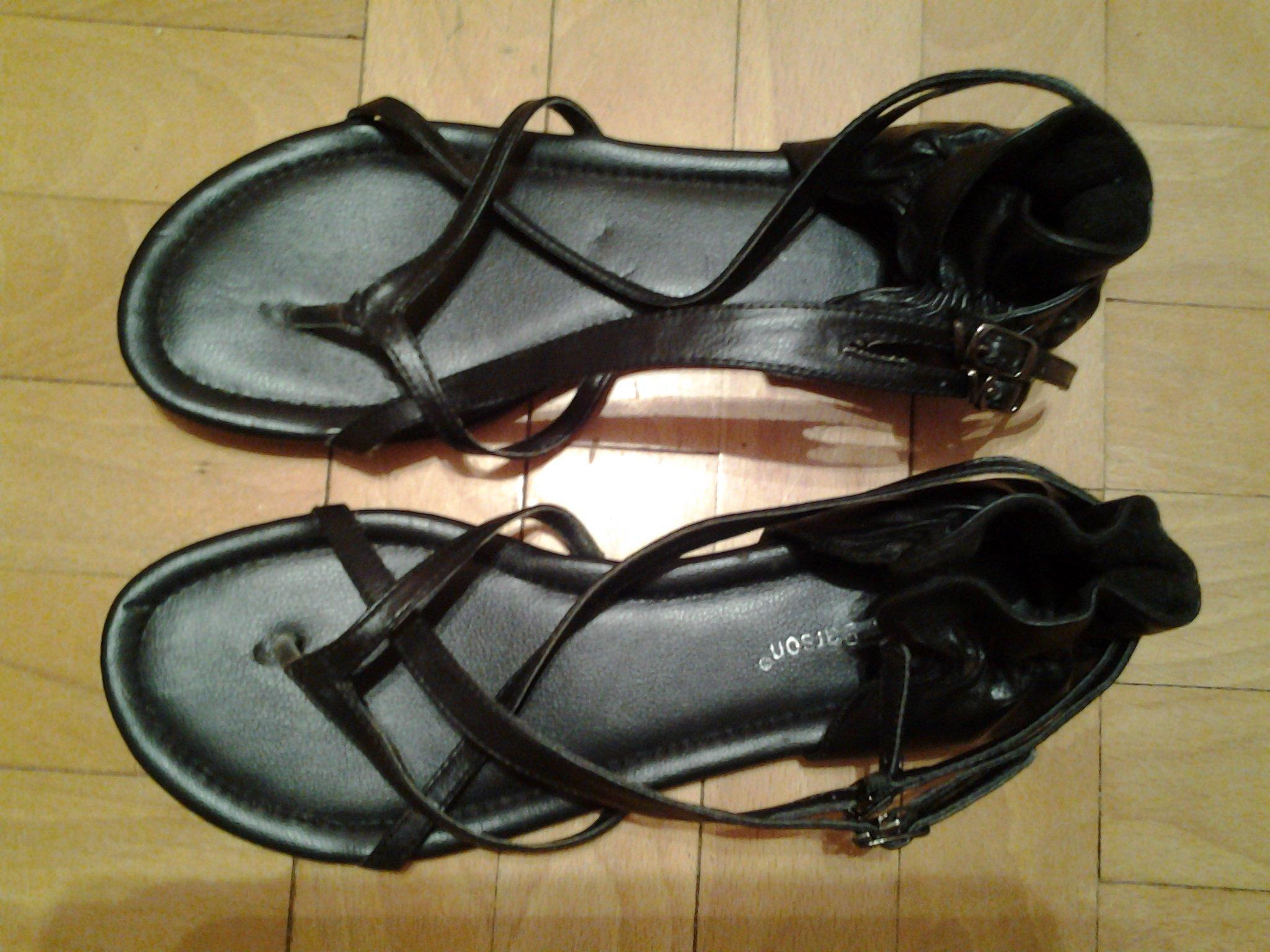 e22f8375b93b5 CCC Clara Barson płaskie sandały paski japonki - 7331443408 ...