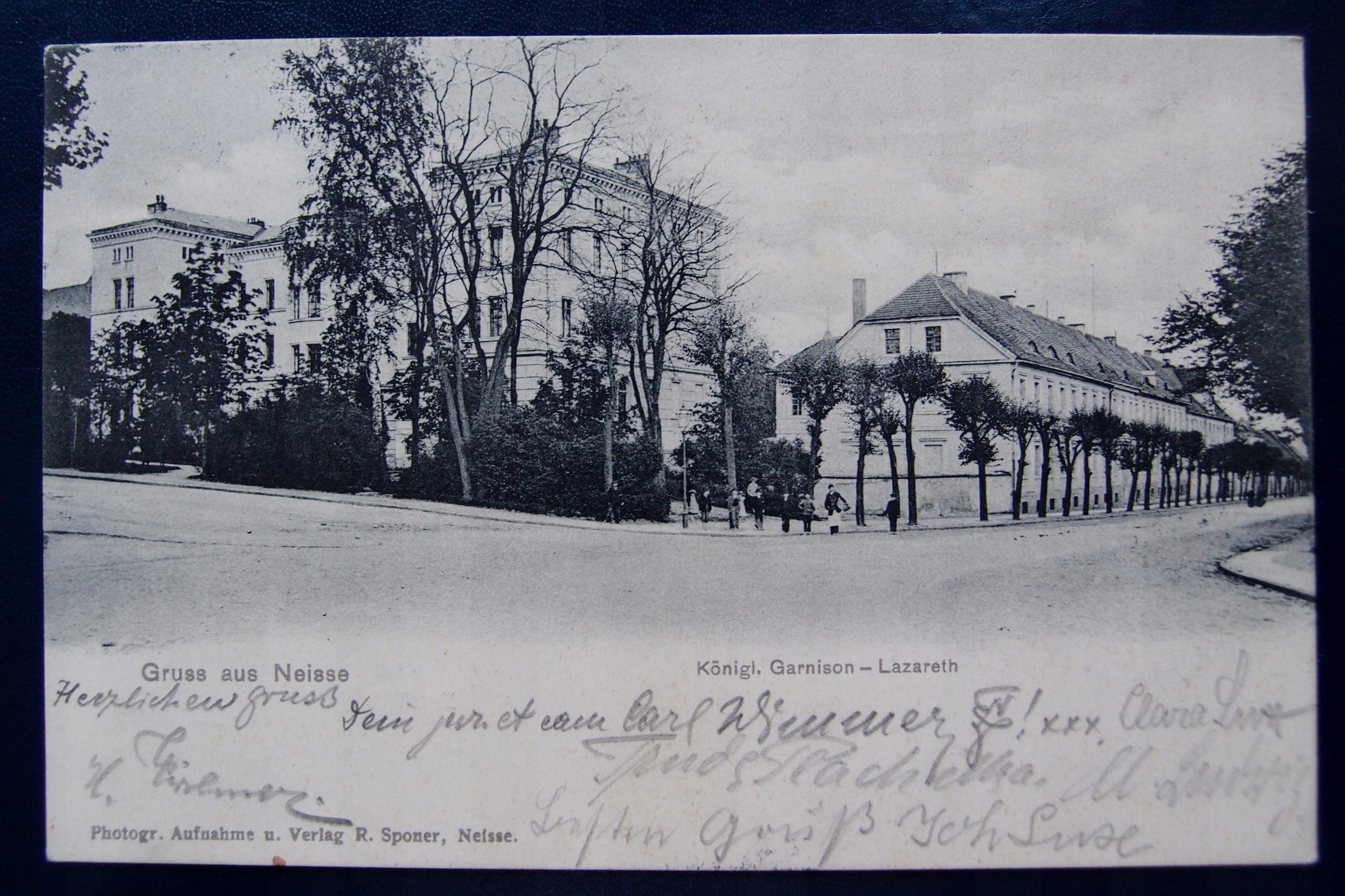 NYSA Gruss aus Neisse 1903r.