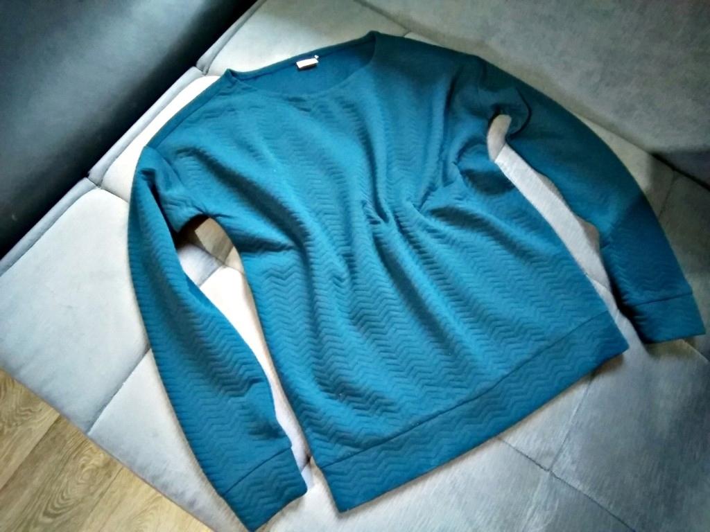 af6d45e016 Bluzka zieleń morska ciepła modna   36 38 - 7714689108 - oficjalne ...