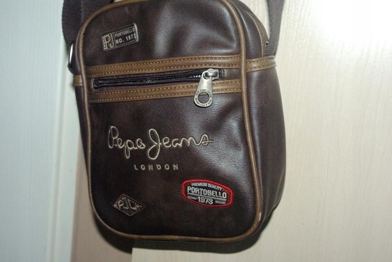 cca81cade1d78 listonoszka Pepe Jeans brąz wygodna - 7508516048 - oficjalne ...