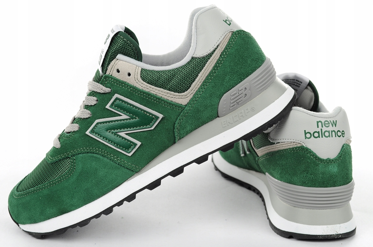 buy online a7a75 7508a Buty sportowe New Balance [ML574EGR] 45,5 - 7289522392 ...