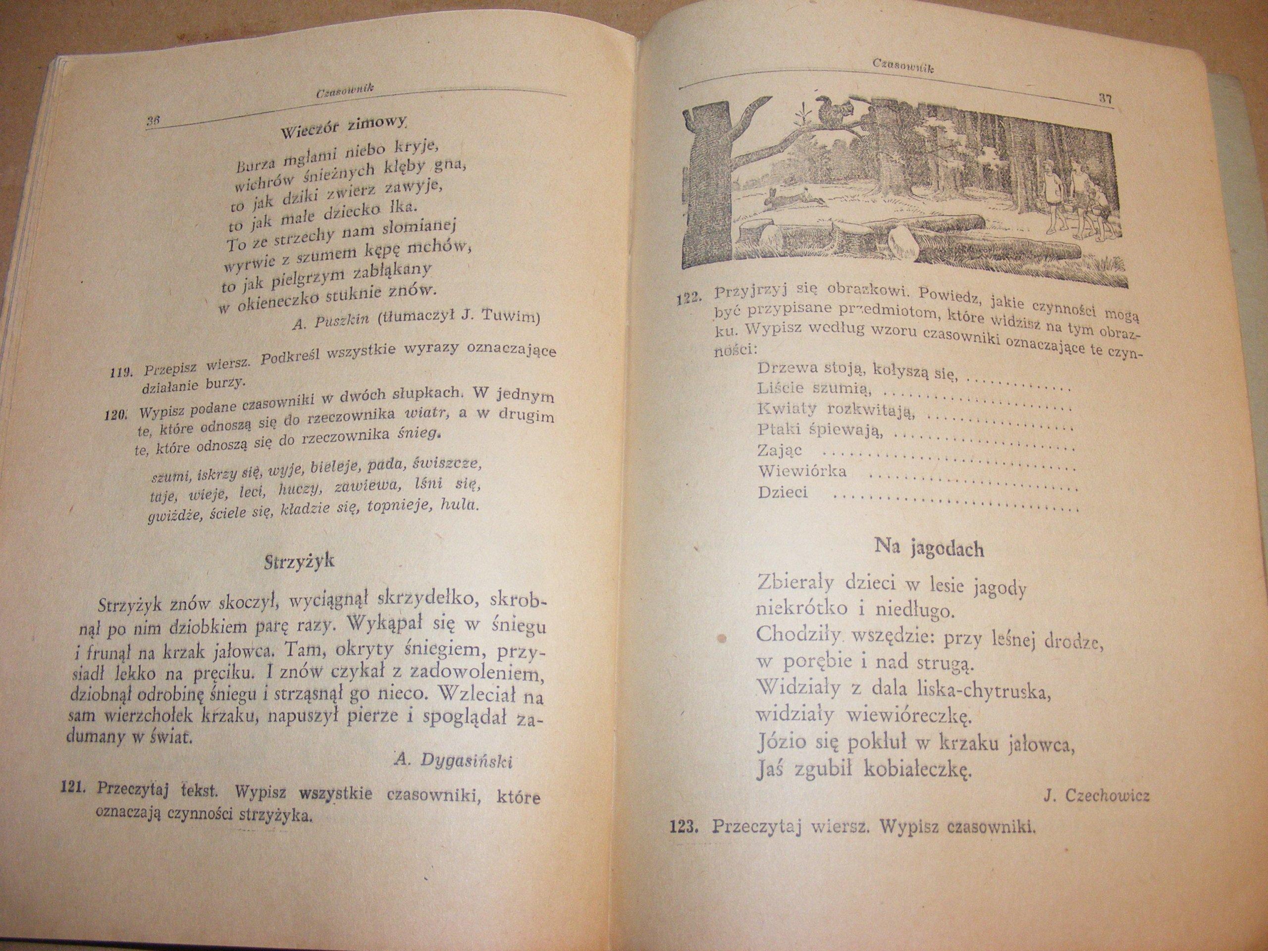 1950 Mowa Polska Podręcznik Kl Lll