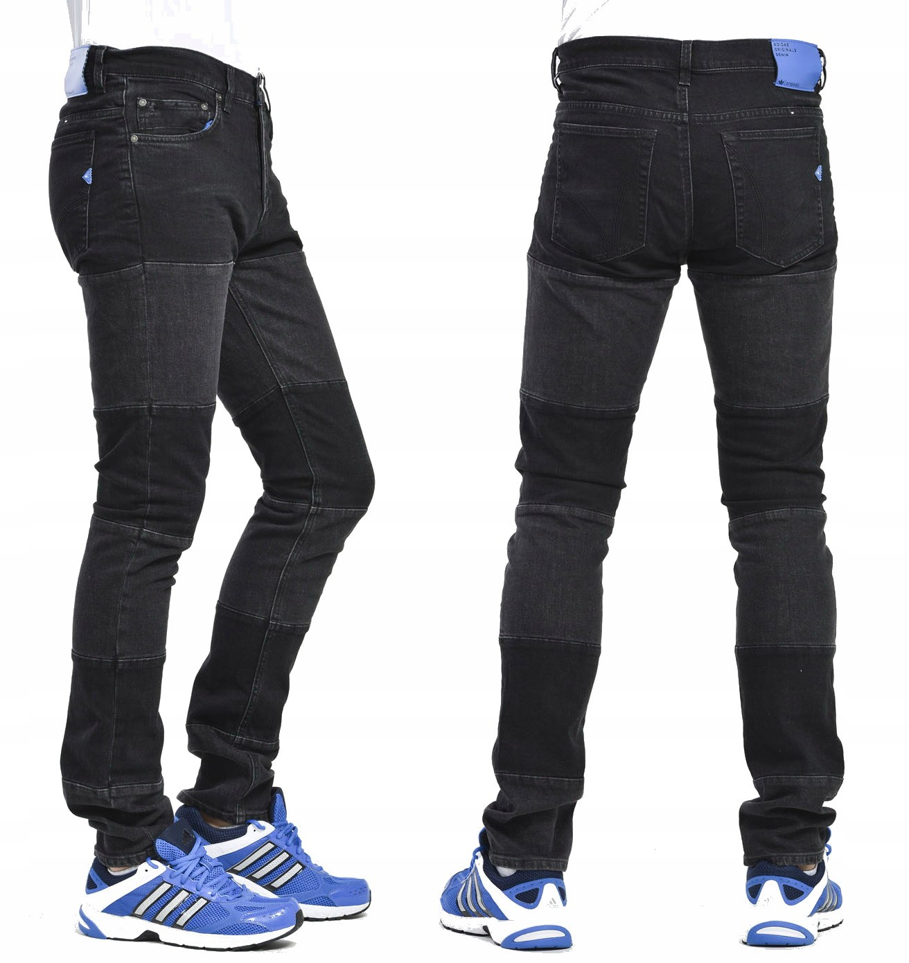 more photos 2a81a d6d52 Adidas Mad Cab Skinny Fit Jeans męskie - W36  L32