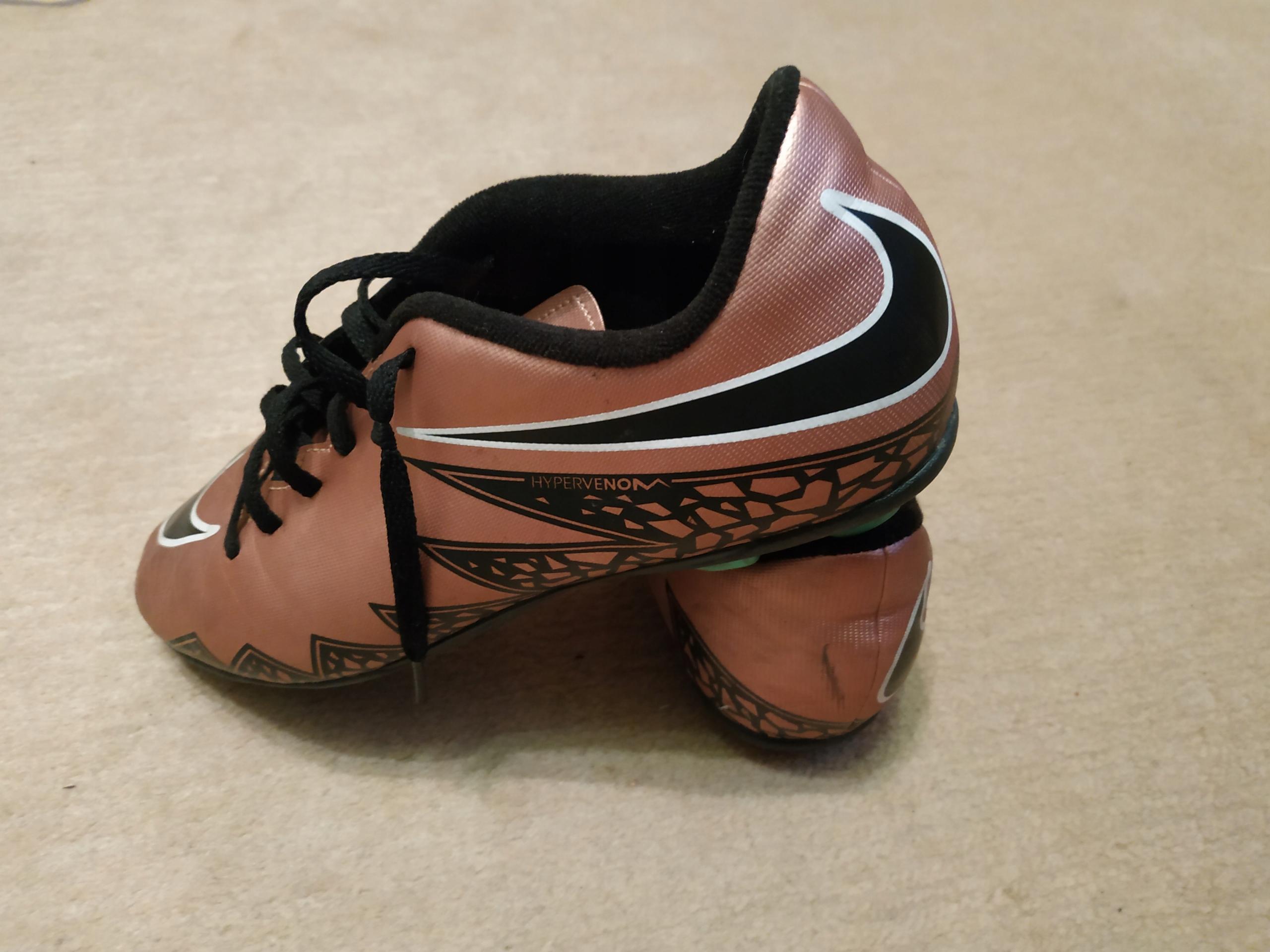 low priced 7a63e 9ffe9 Korki Nike Hypervenom Phelon II Złote r. 38.5