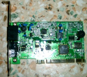 Fax - Modem Zoltrix HCF 56 1