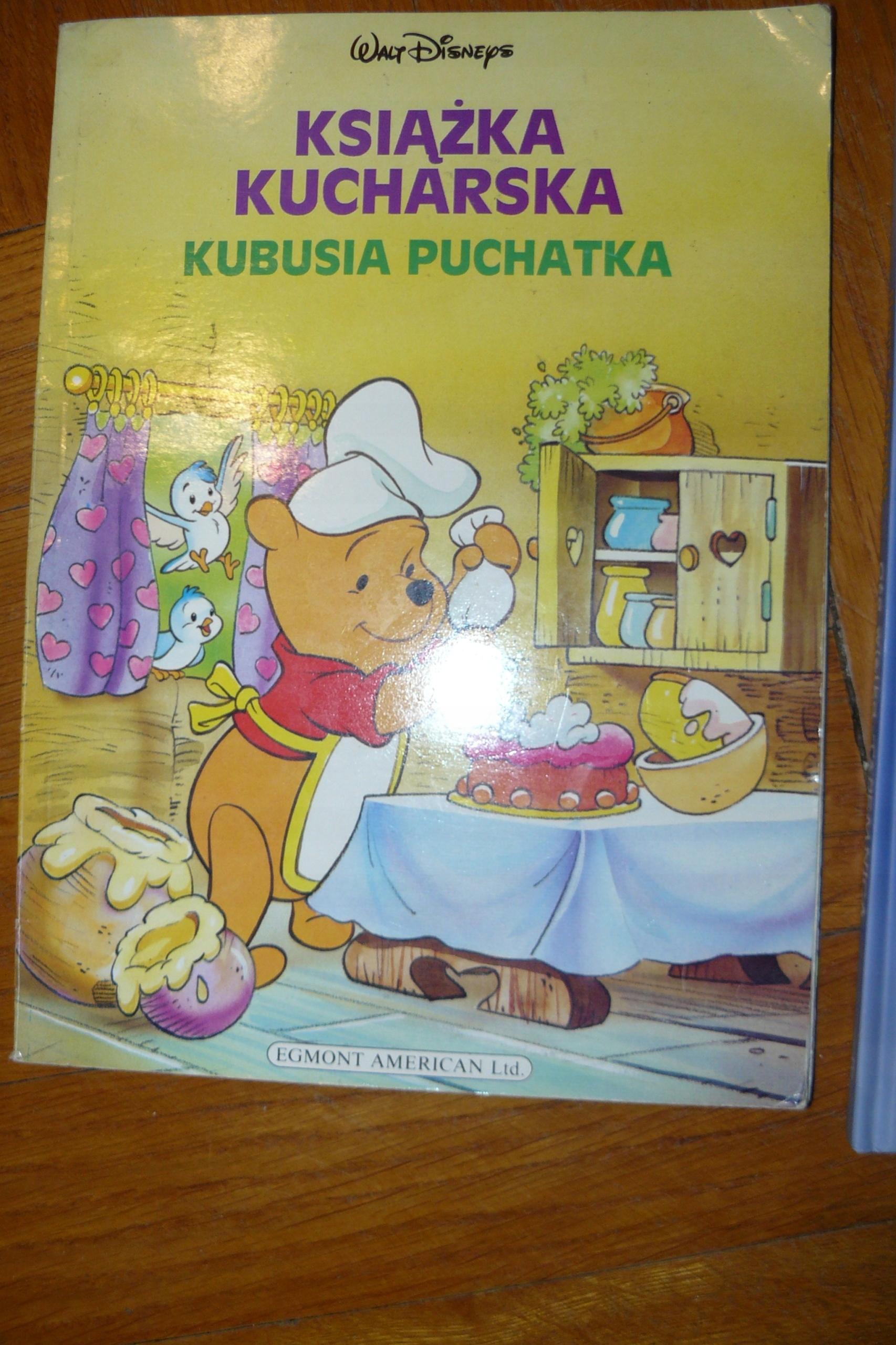 Książka Kucharska Kubusia Puchatkajtuwim Wiersze