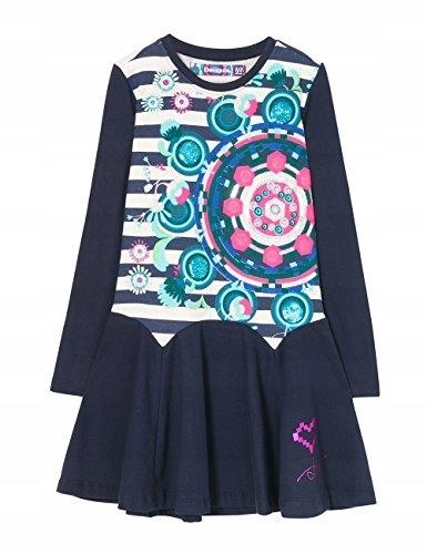 81c85ab9ab S1793 DESIGUAL sukienka dziewczęca z cekinami r122 - 7532175530 ...