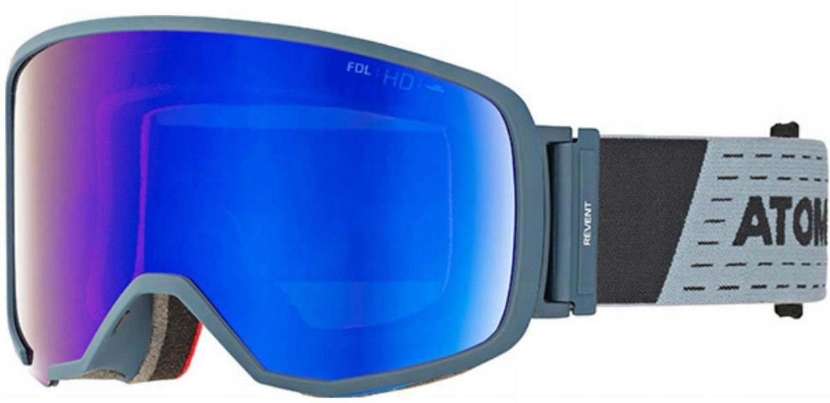94e880c35 Gogle Atomic Revent L FDL HD Niebieski Blue Stereo - 7689591315 ...