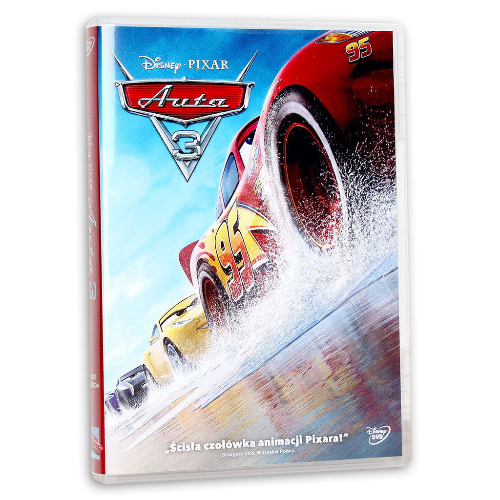 Auta 3 DVD PL Nowa Folia
