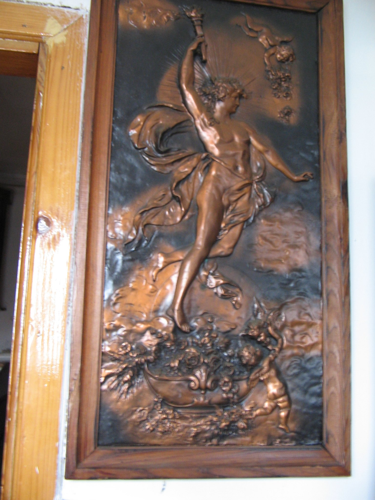 Obraz Miedziany Prometeusz 7312675358 Oficjalne Archiwum Allegro