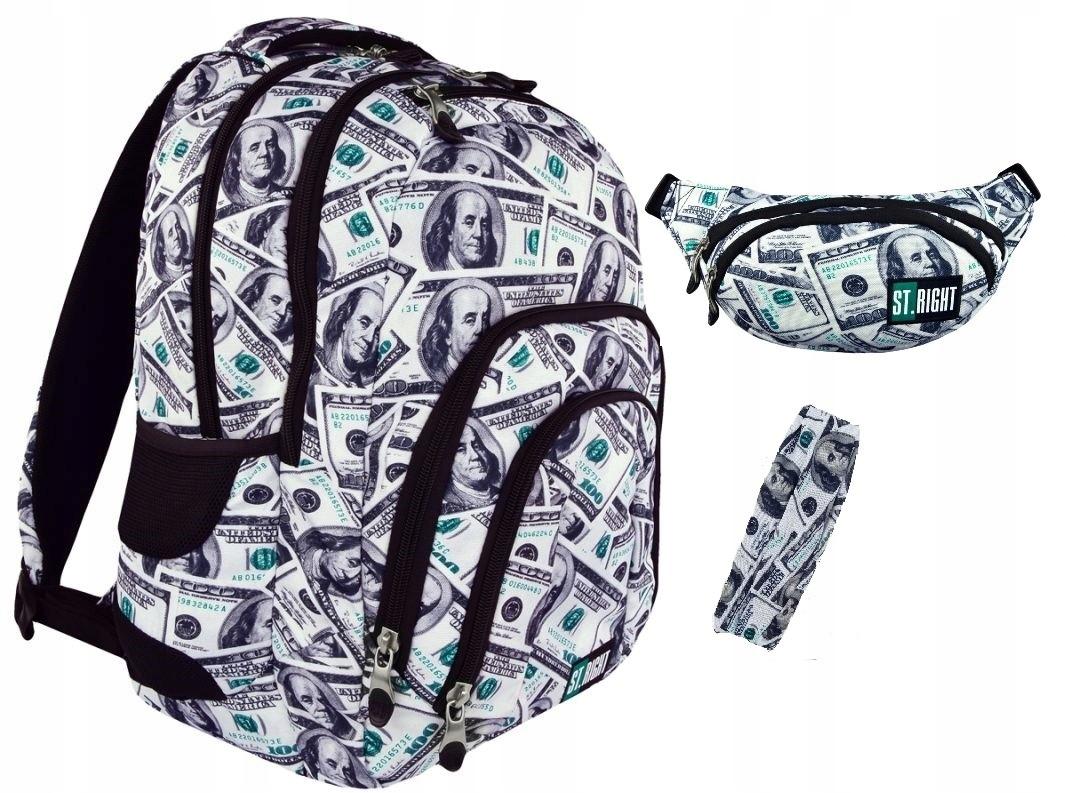 19db6bc63ad77 Plecak + Nerka ST.RIGHT BP-25 Dollars Dolary - 7454074673 ...