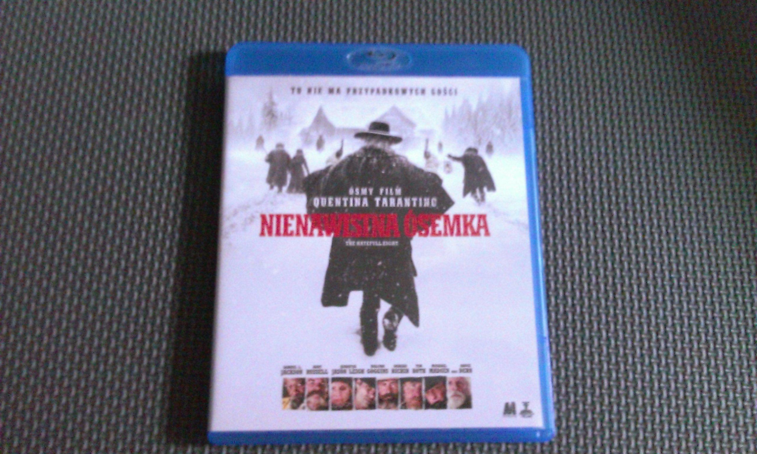 Nienawistna ósemka Blu-ray