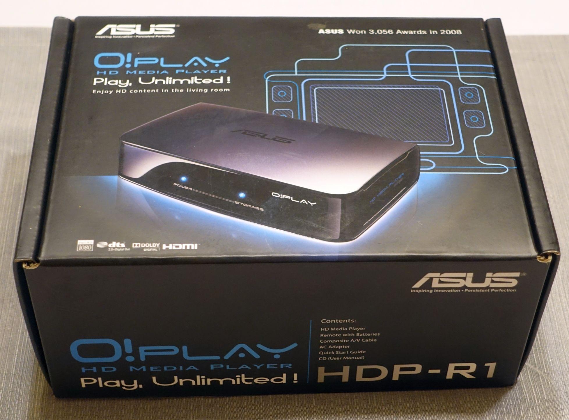 Odtwarzacz multimedialny ASUS O!Play HDP-R1/1A (7166646957)