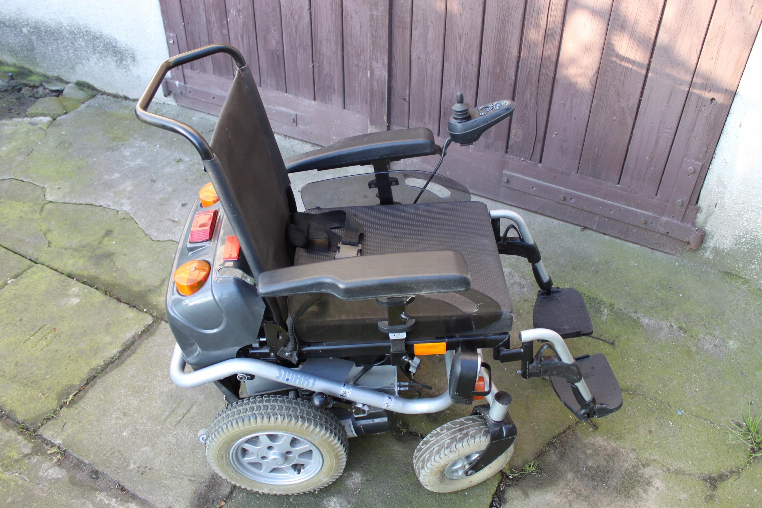 Poważnie Wózek elektryczny inwalidzki MEYRA SMART używany - 7487272881 XM39