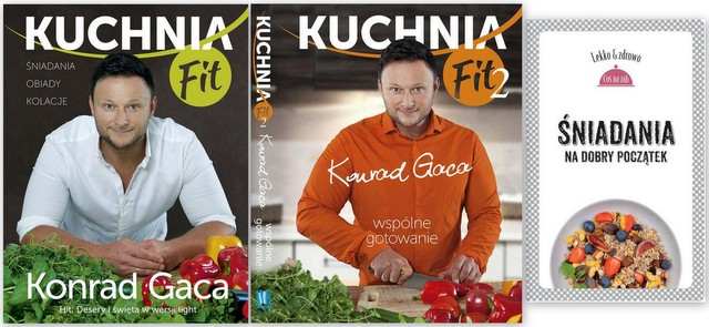 Kuchnia Fit 2 Części Gaca śniadania Lekko Dieta 5503891499