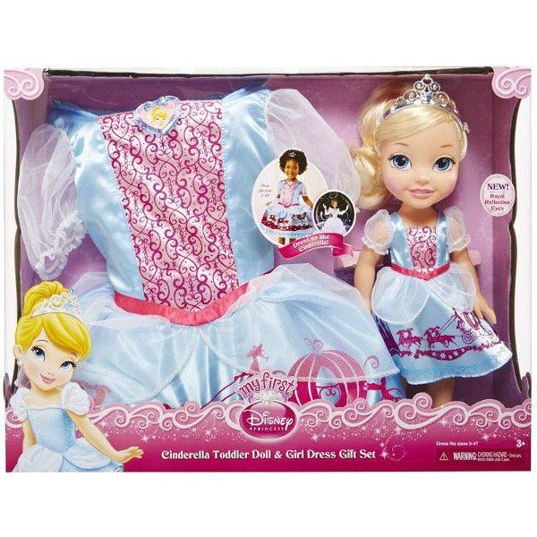 42c4fcc98f Lalka Kopciuszek + Sukienka dla dziewczynek - 7011389082 ...