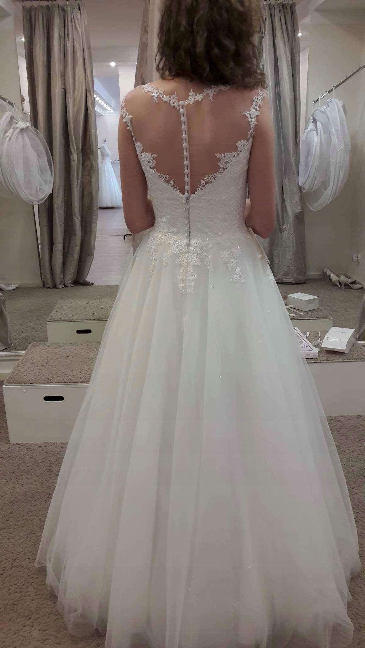 7b0ad95ade Suknia ślubna Agnes na sprzedaż - 7615764156 - oficjalne archiwum ...