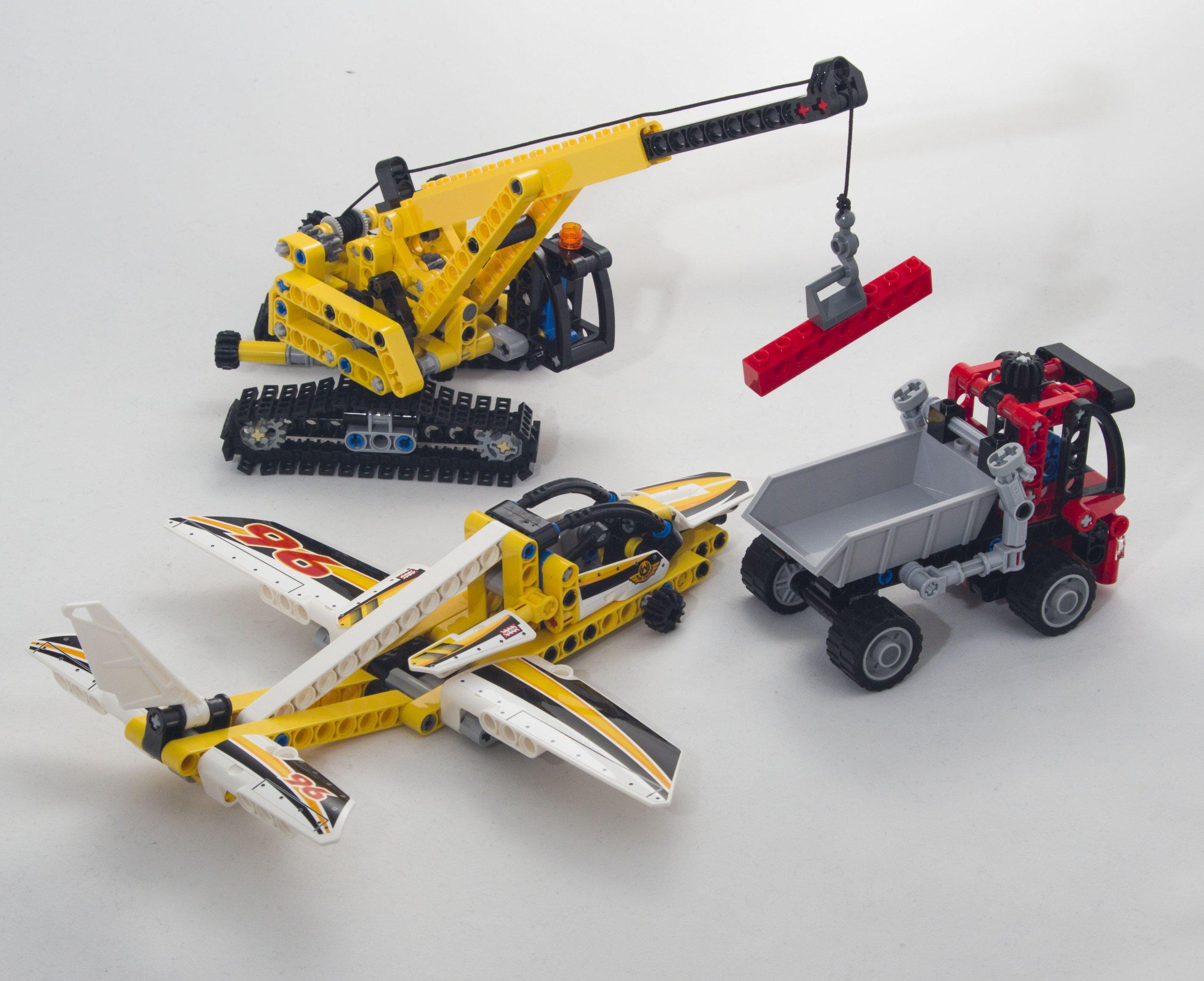 Lego Technic Mix Zestawów Dźwig 9391 8065 4204 7184252326