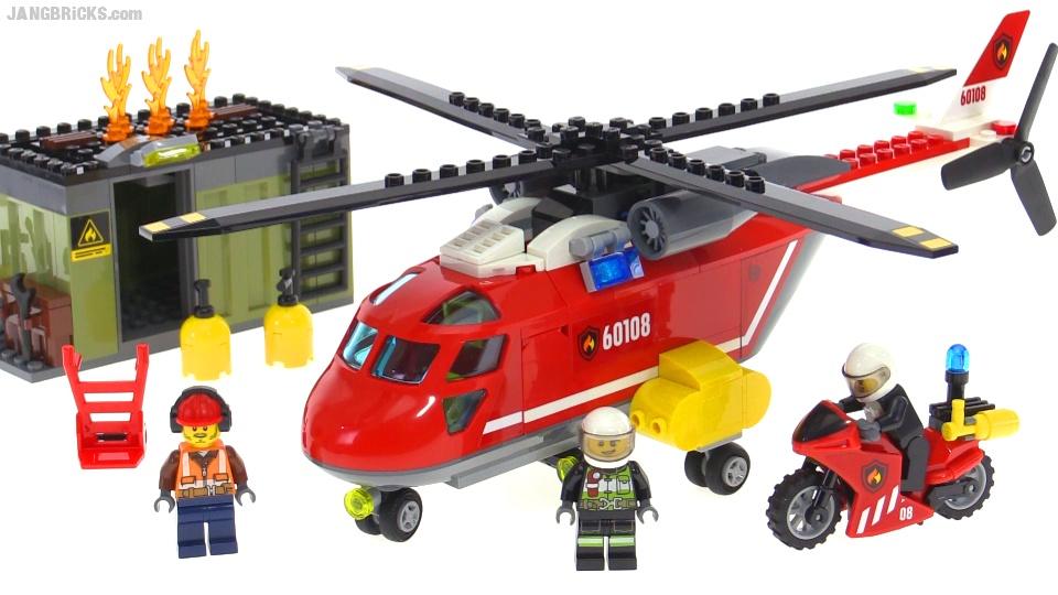 Klocki Lego City Helikopter Strażacki 60108 7098735694 Oficjalne