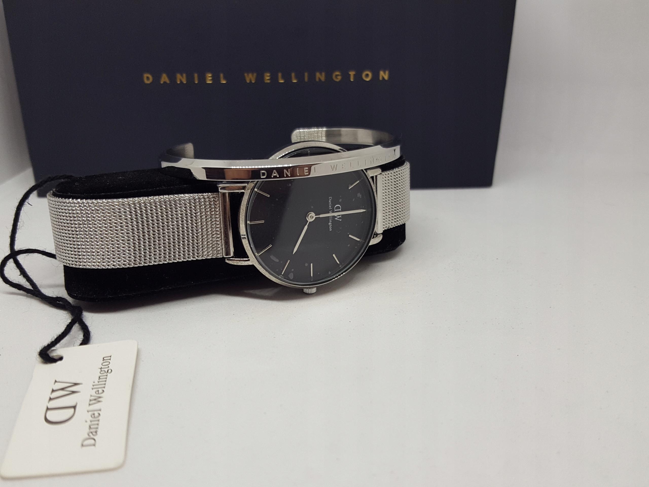 d186dc55cd7f Zegarek Daniel Wellington Sterling 32mm+bransoleta - 7772435587 ...