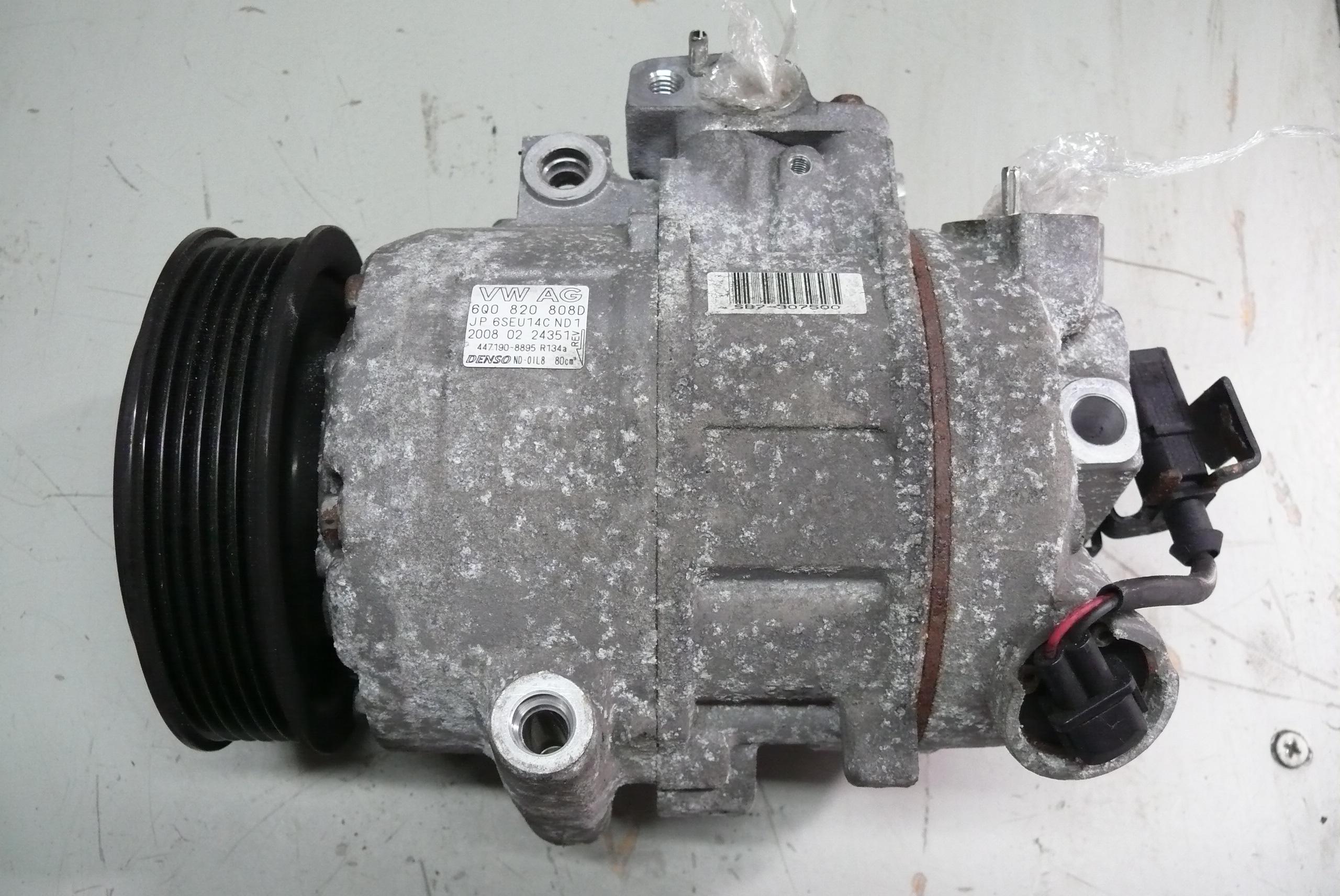 Kompresor Sprarka Vw Seat Skoda Audi 6q0820808d 7391336858 Polo Denso