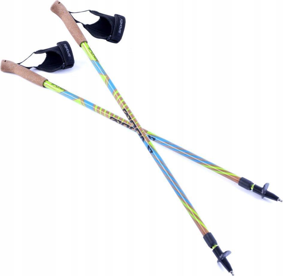 Spokey - KIJE NORDIC WALKING Woody 105-140cm