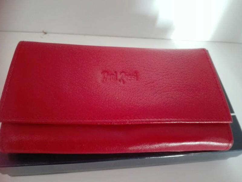 ed9632f3e5fa9 Piękny czerwony skórzany portfel - 7366372806 - oficjalne archiwum ...