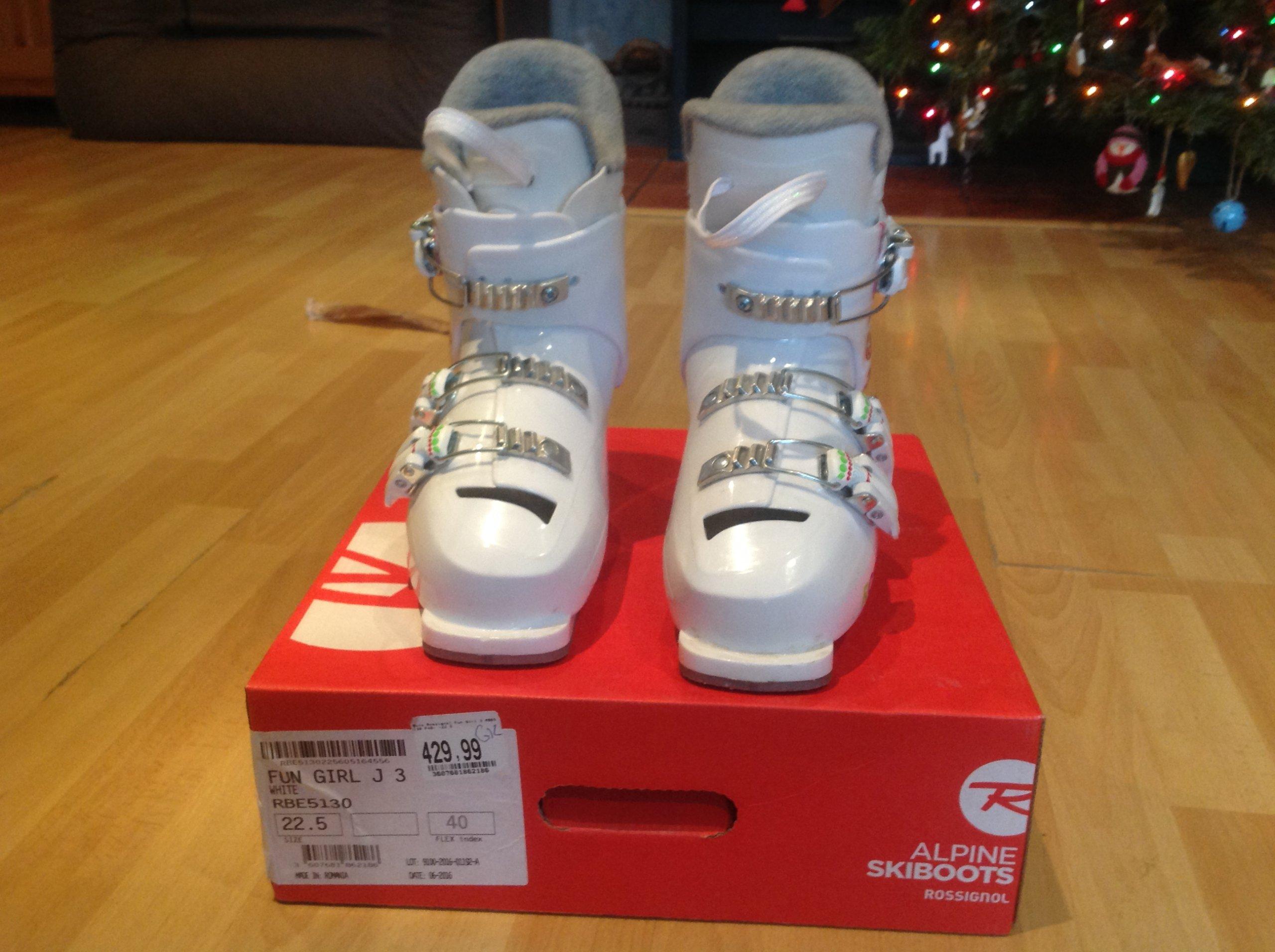 Rossignol buty narciarskie 22,5 dziecięce