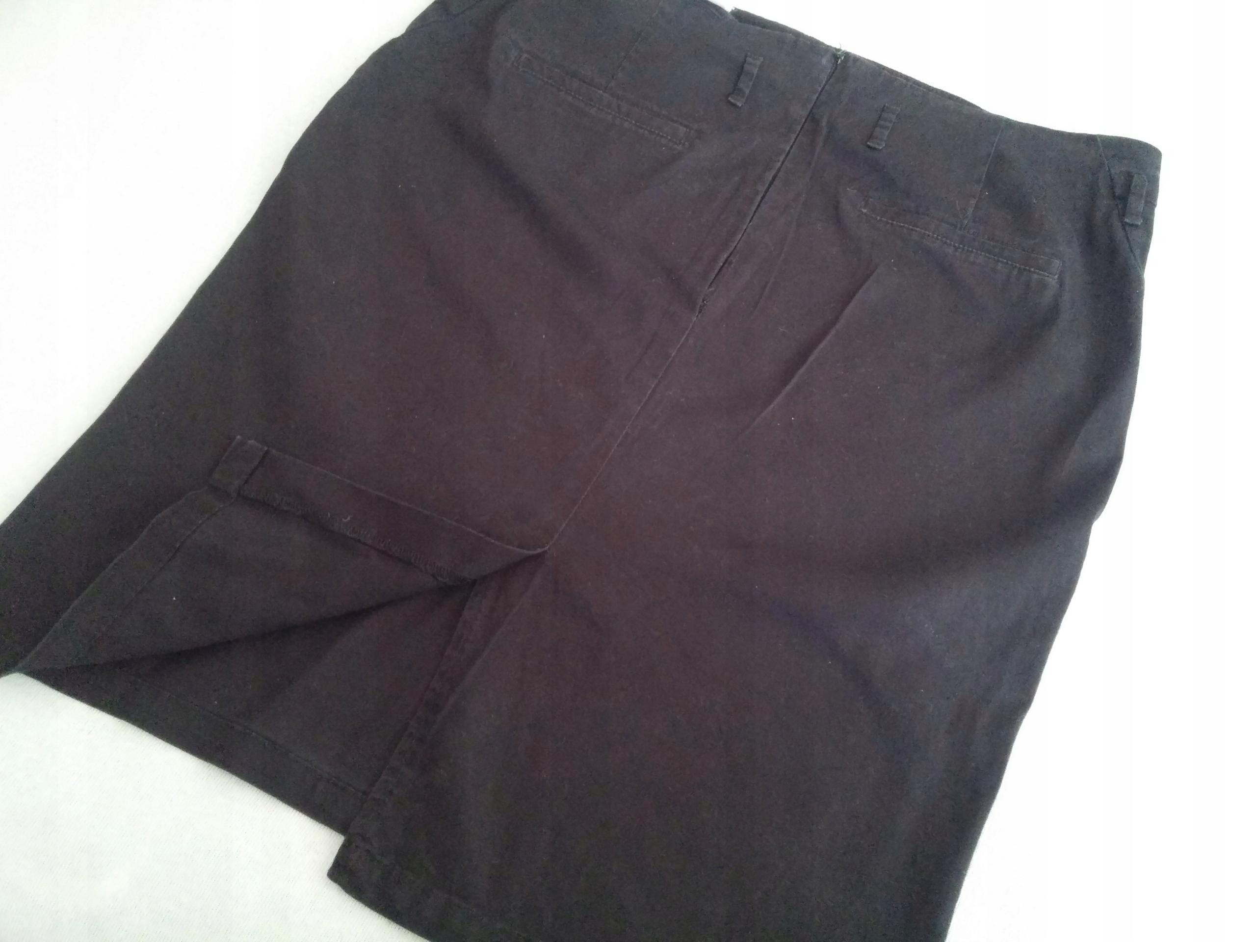c1793b7000423c Spódnica czarna ołówkowa 44 bawełna - 7511723049 - oficjalne ...