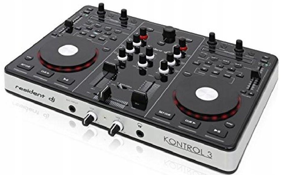 Resident DJ Kontrol 3 Kontroler Mixer Pulpit PROMO