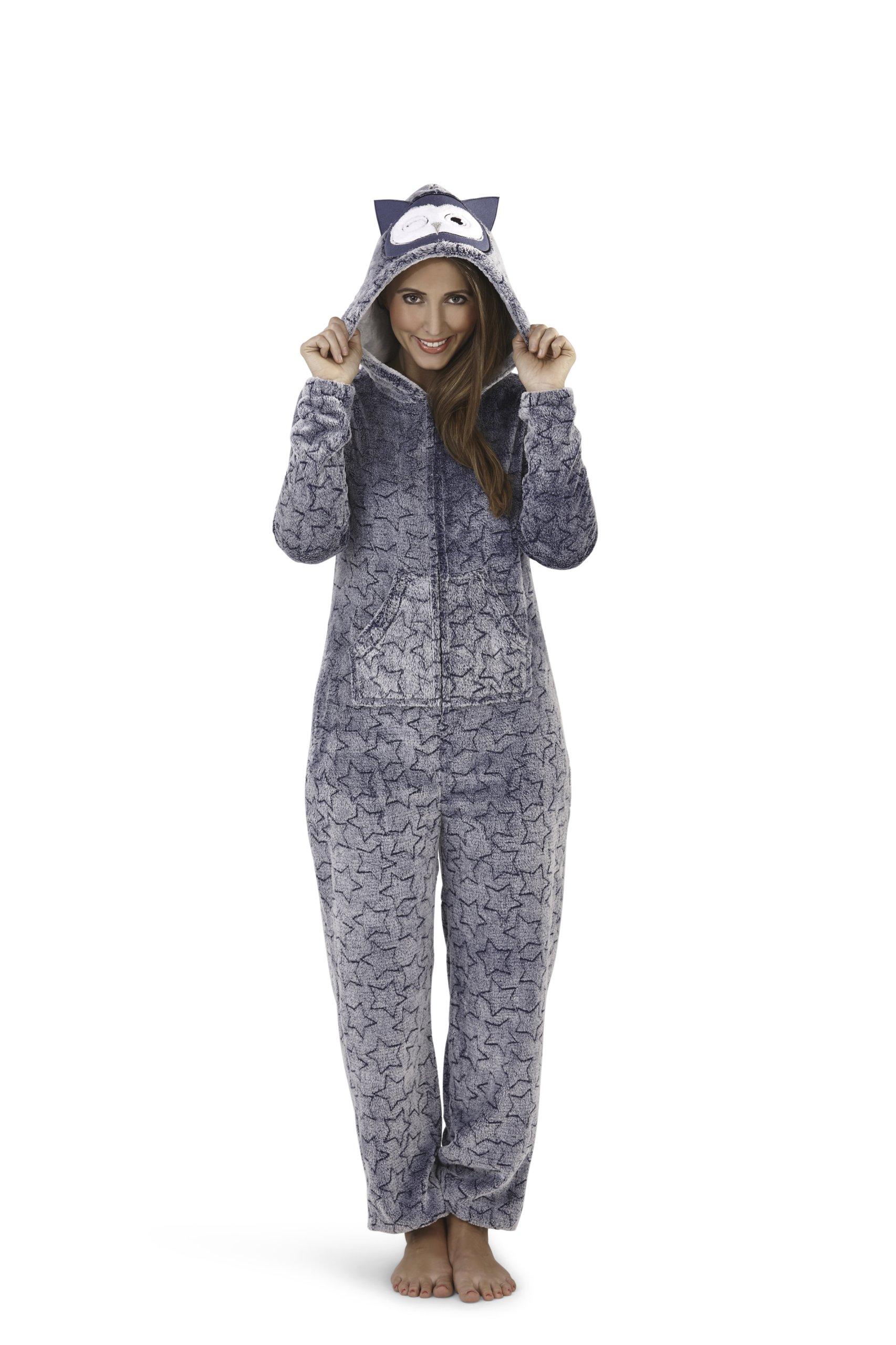 60e344bb04ff11 DRES jednoczęściowy ONESIE piżama ZWIERZĘTA sowa L - 7005532450 ...