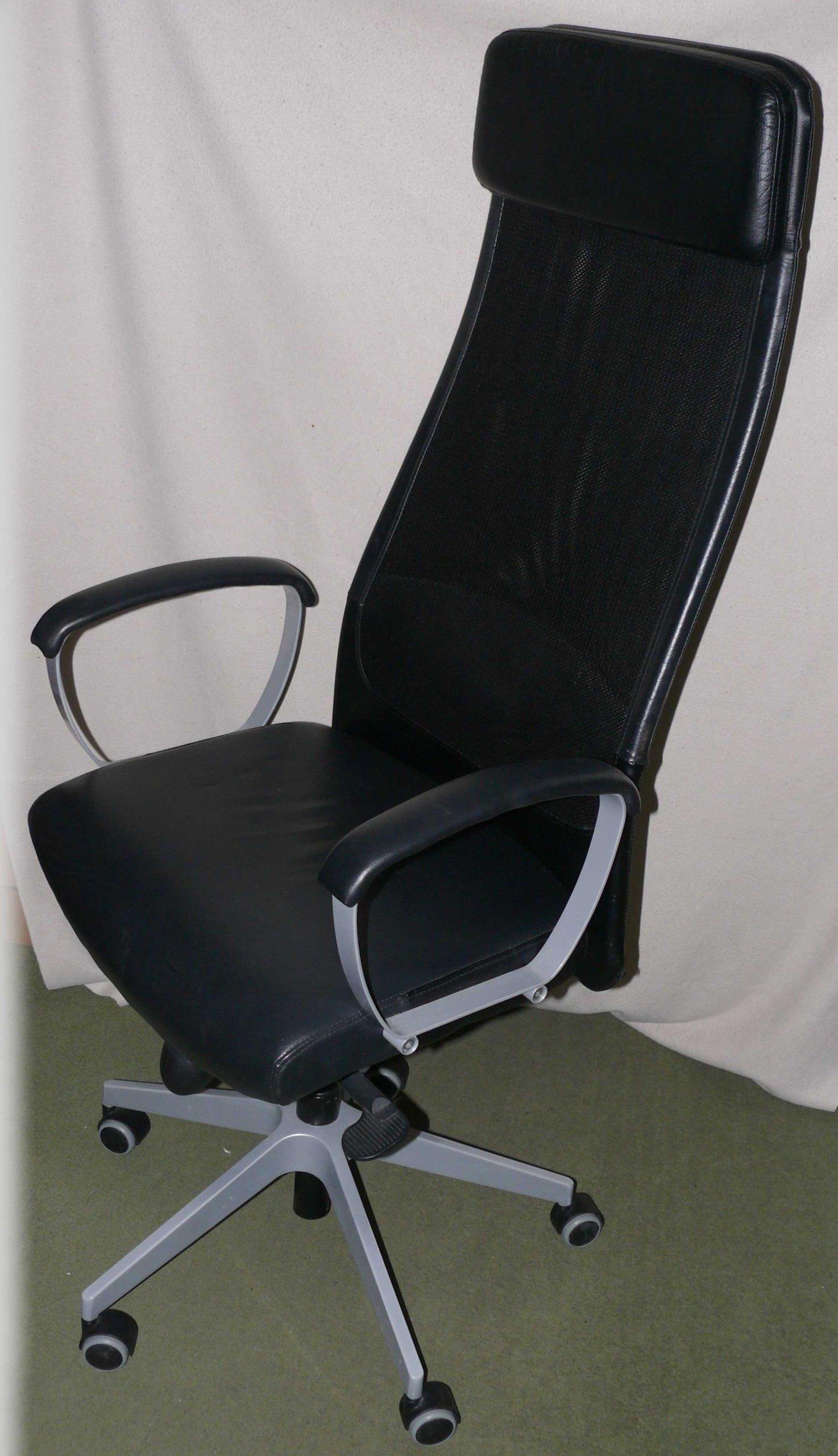 Fotel Biurowy Markus Ikea 7346650555 Oficjalne Archiwum Allegro