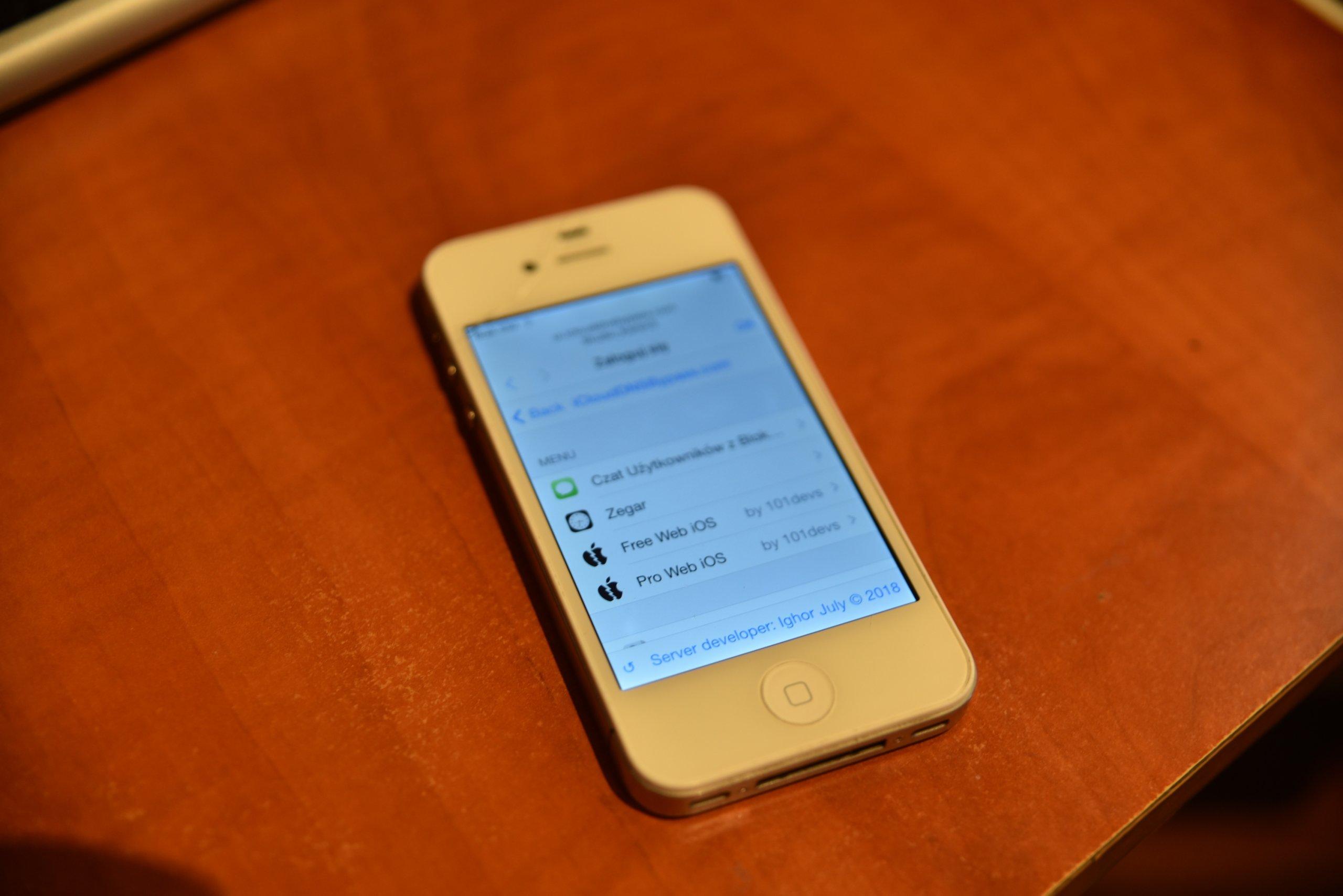 Iphone 4s Sprawny z blokadą iCloud