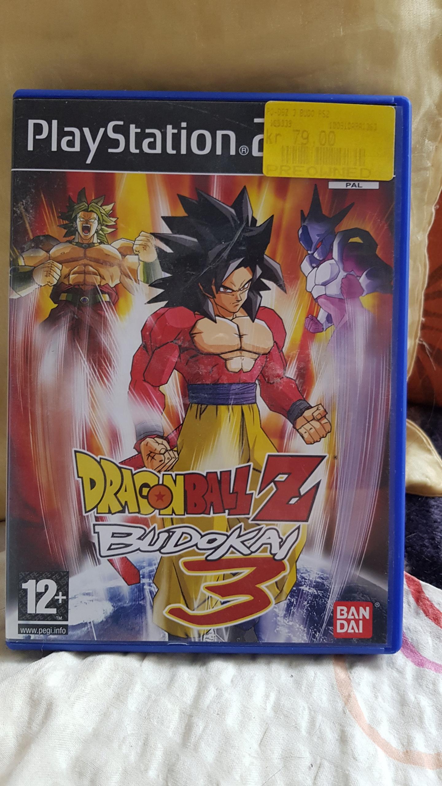 PS2 gra Dragon Ball Z Budokai 3
