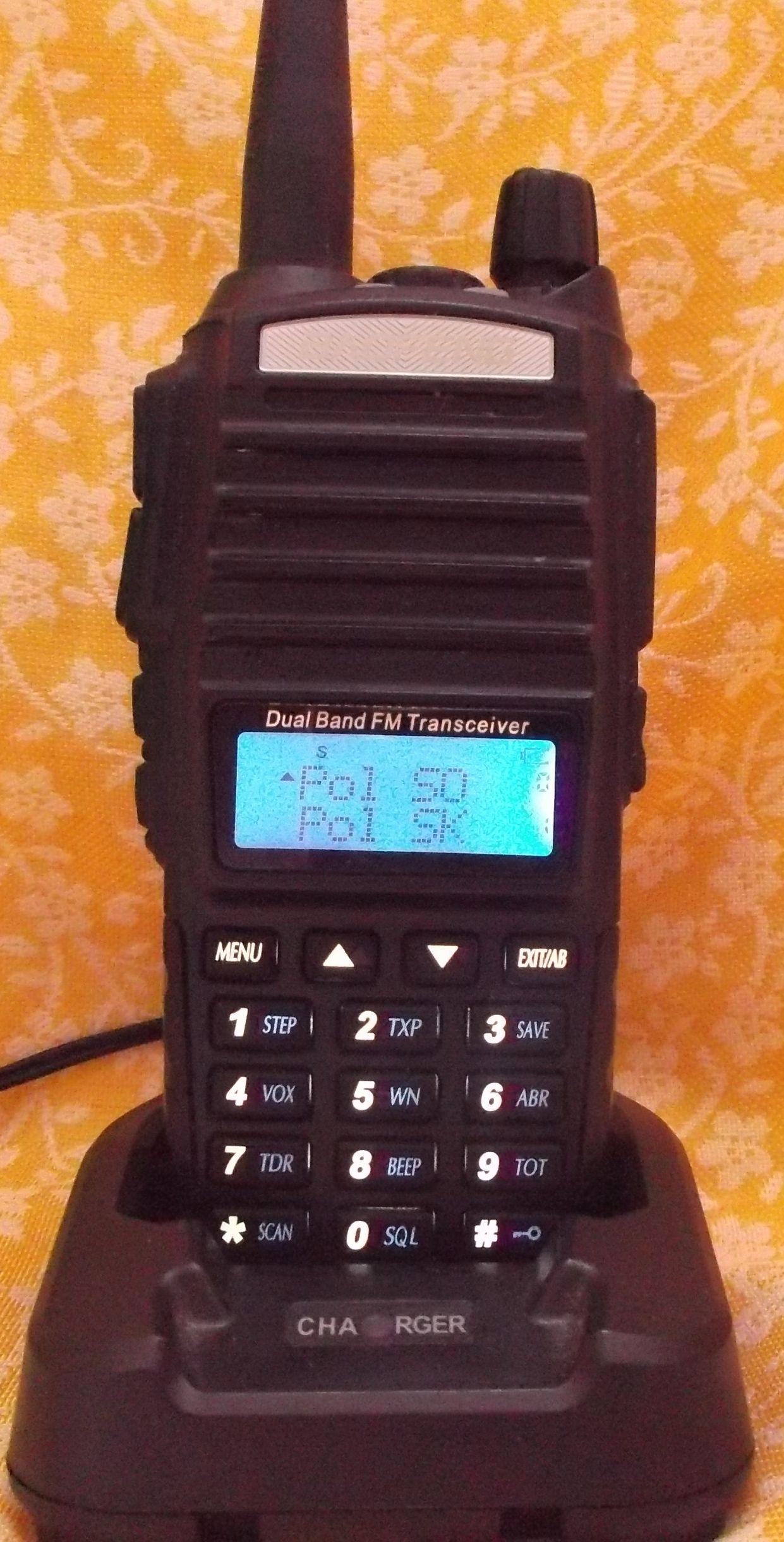 BAOFENG UV82 KRÓTKOFALÓWKA VHF/UHF RADIO FM