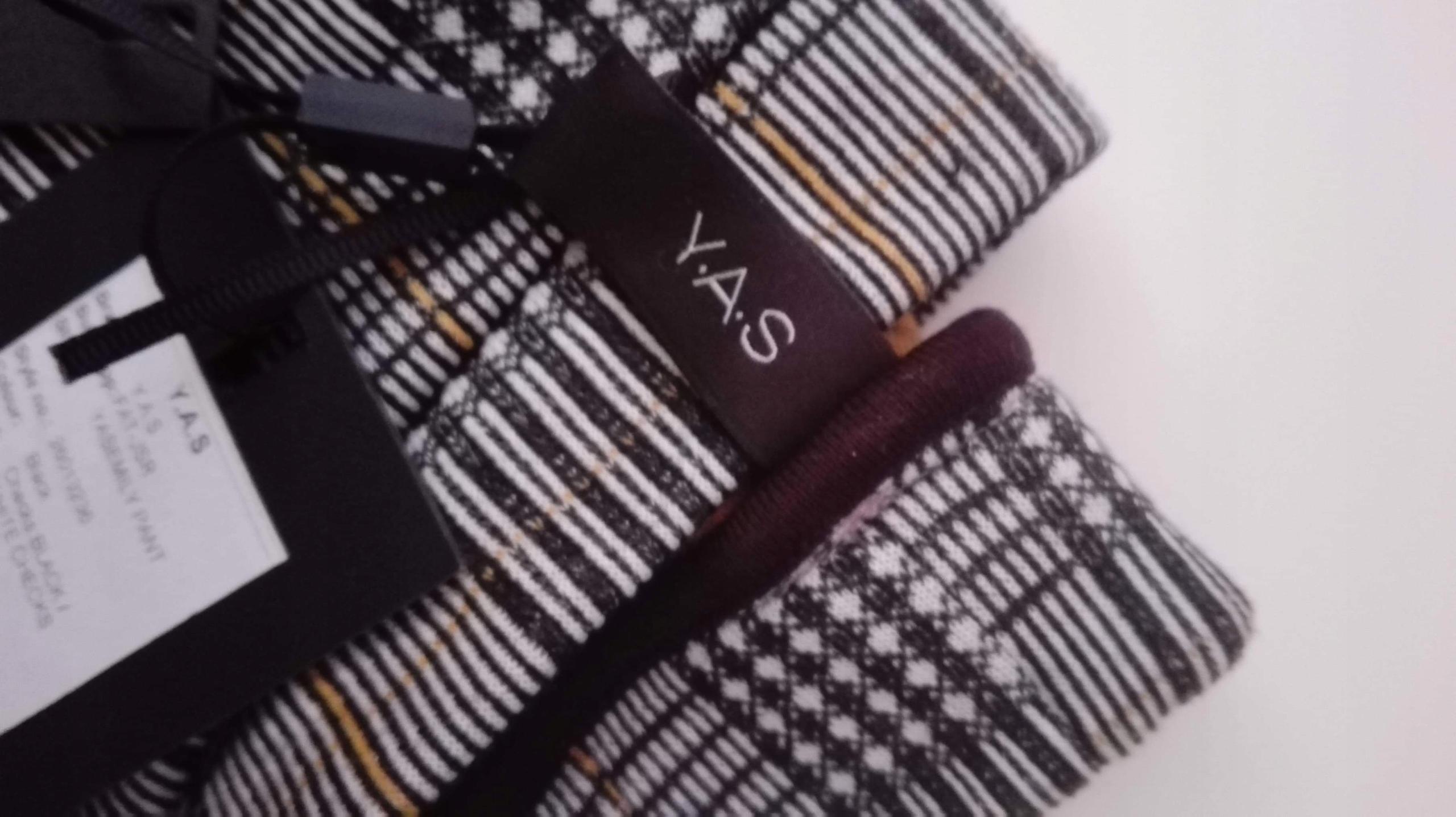 920cc6c0b99fd Zalando Yas spodnie krata eleganckie - 7632713606 - oficjalne ...