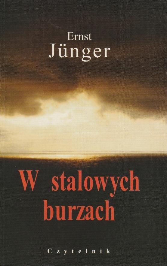 Ernst Junger W stalowych burzach /SRL