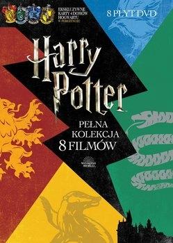 HARRY POTTER - pełna kolekcja z kartami /BOX 8 DVD