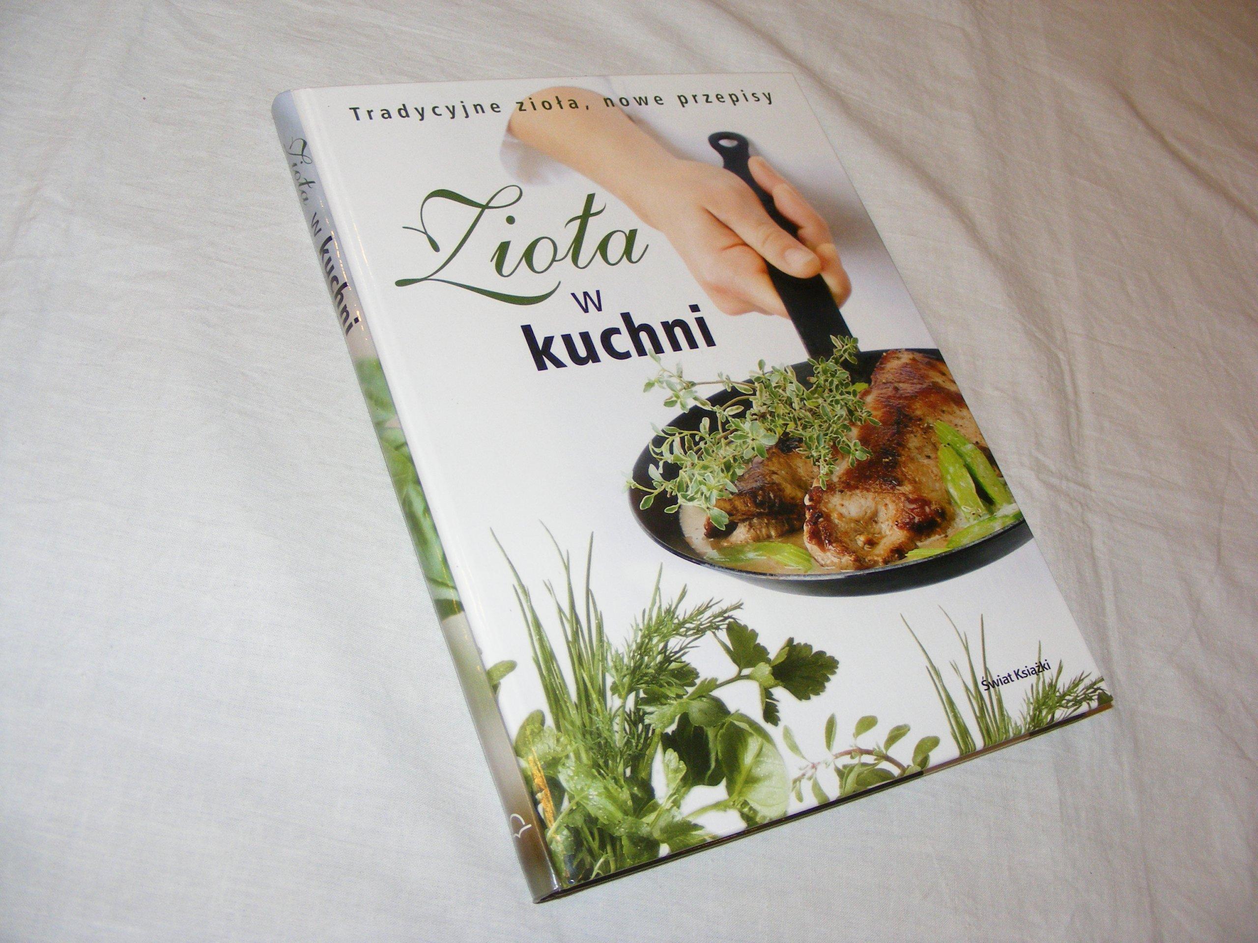 Zioła W Kuchni Wyd świat Książkitwardabdb
