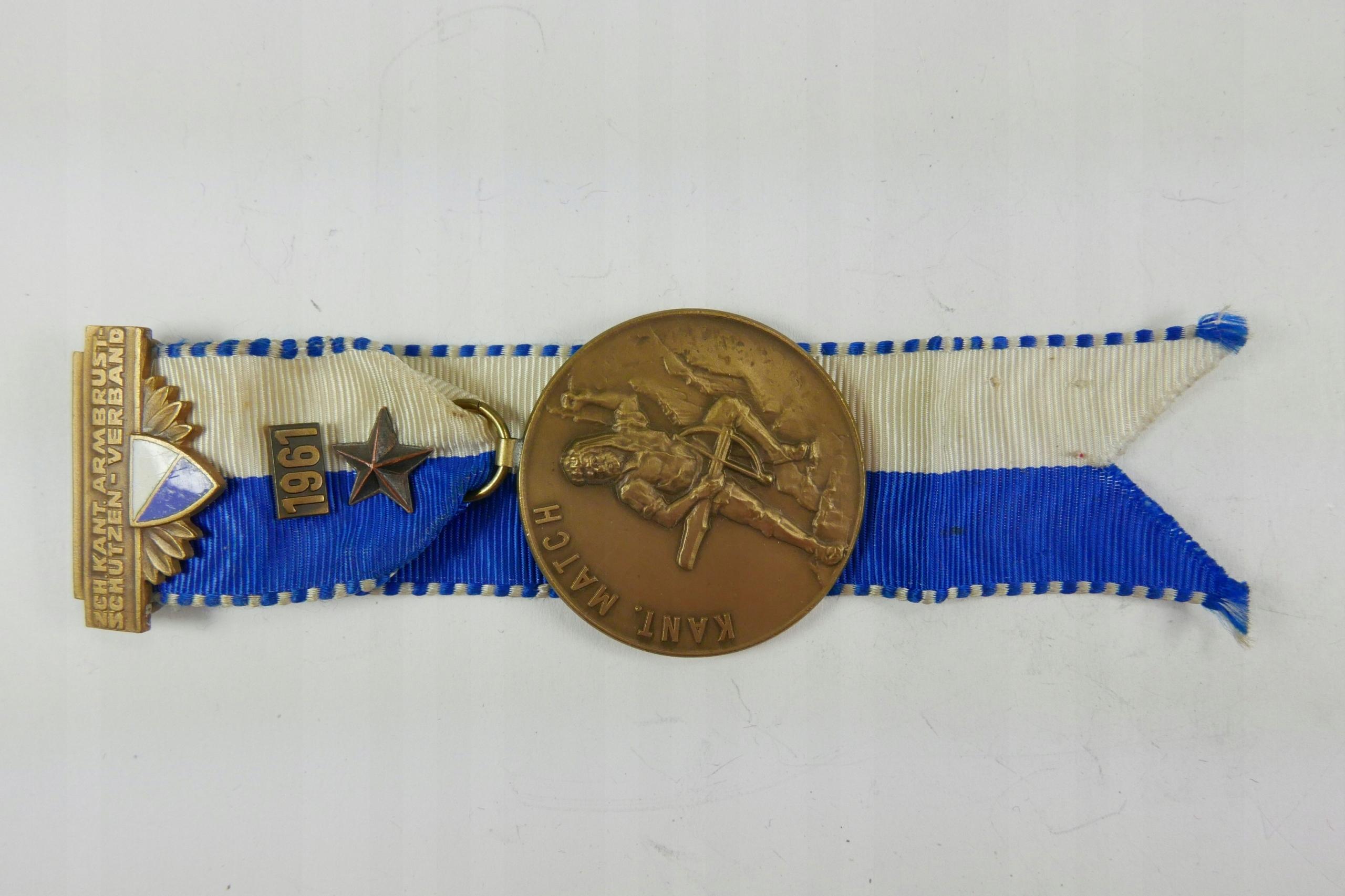 Medal Strzelecki SZWAJCARIA 1961 - M592