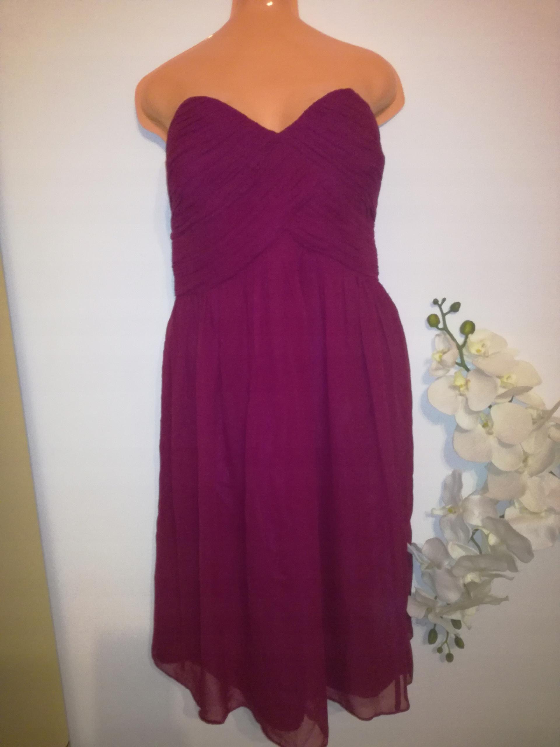 2ea604ad8f DONNA MORGAN Sukienka suknia 46 zwiewna sylwester - 7679996296 ...