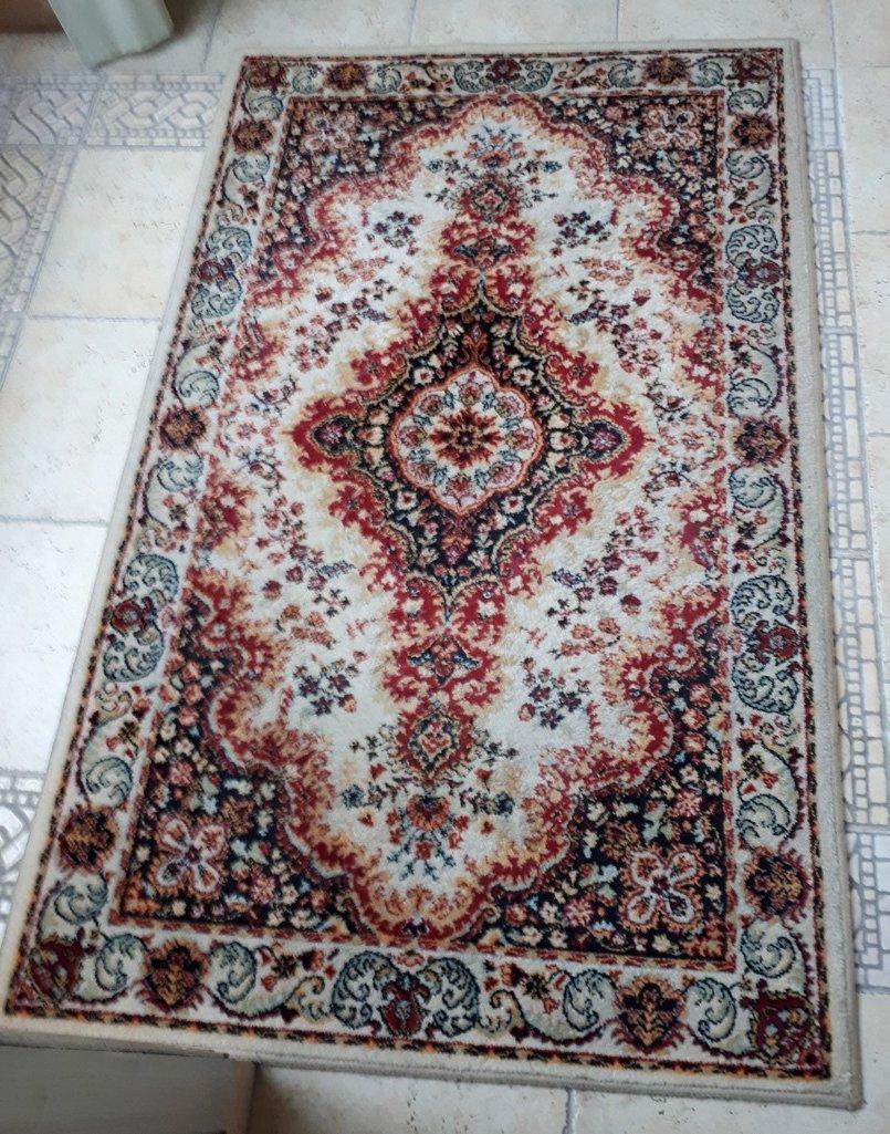 Dywan Wełniany Typu Perskiego 90 X 150 Cm