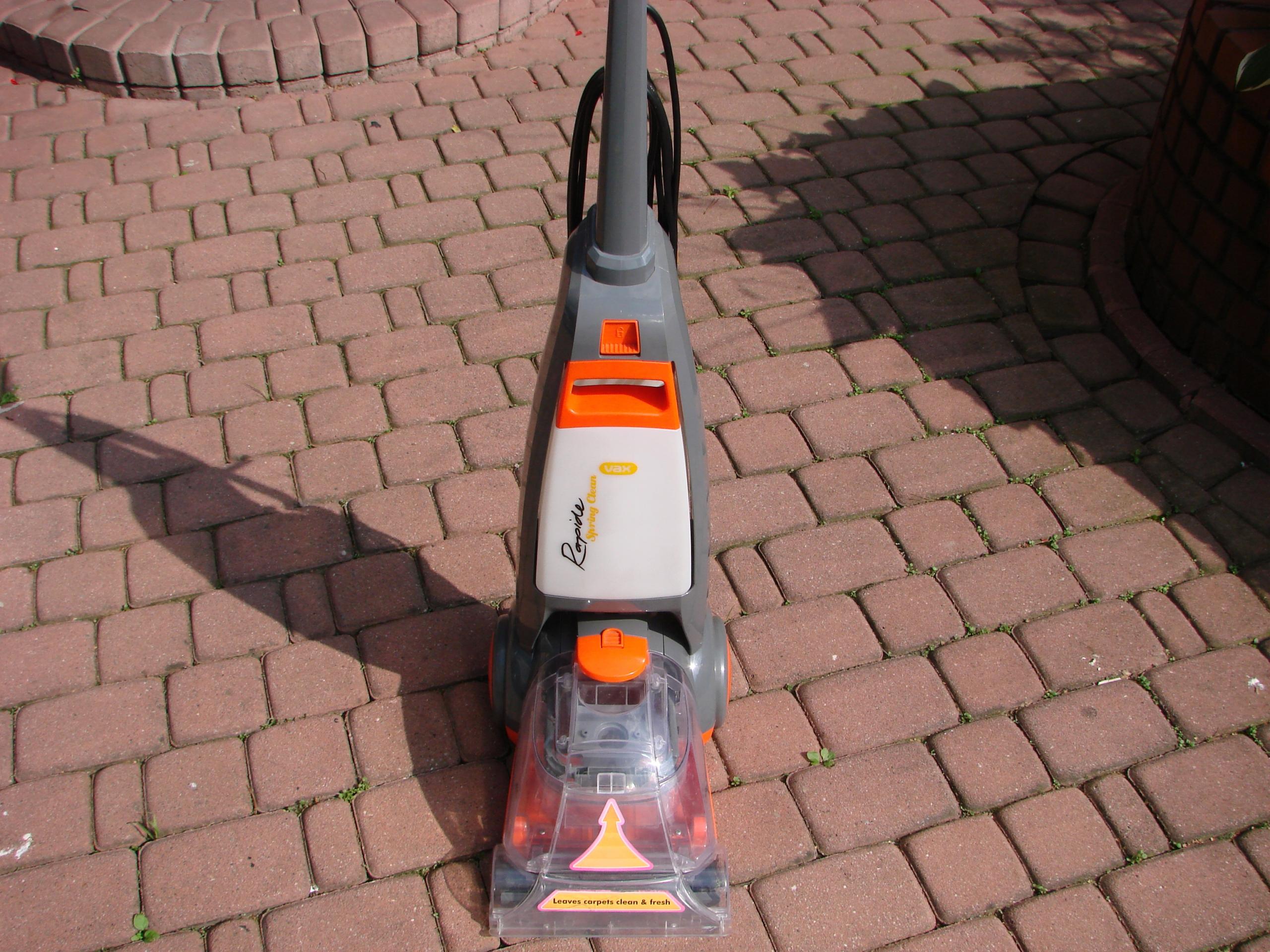Vax Rapide Spring Carpet Cleaner W91 Rs B A Carpet